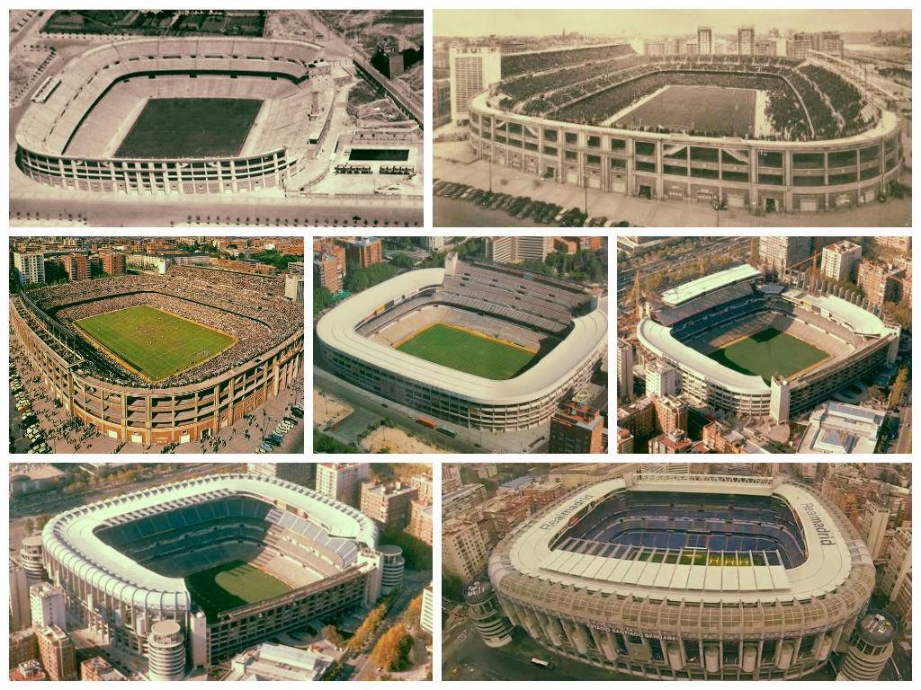 Estadios de f tbol en espa a madrid estadio santiago for Estadio bernabeu puerta 0