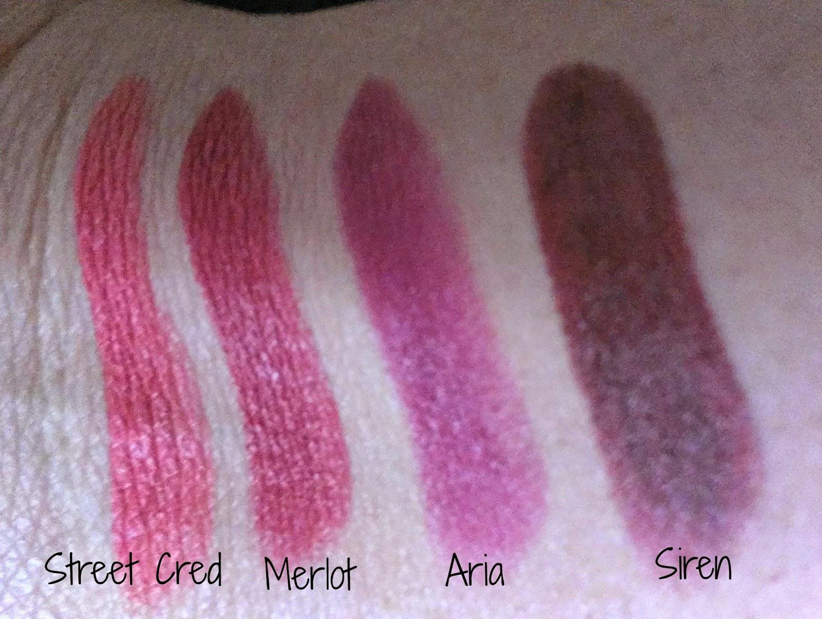 Brown Girl Makeup Musings: NYX Matte Lipstick Review