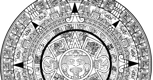 Sol Azteca Dibujo. calendario azteca creación 2 3 youtube ...
