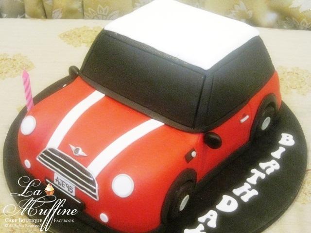 La Muffine Mini Cooper Cake