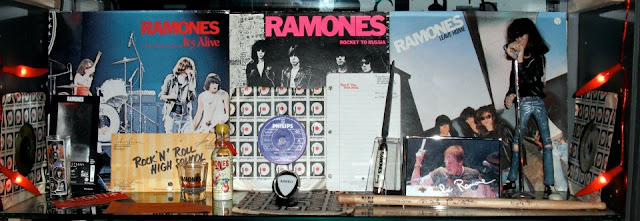 ramones albums and record collection