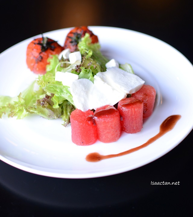 Chilled Tomato, Watermelon and Feta - RM 17.90