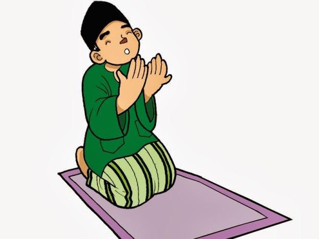 Berdoa itu kayak gini