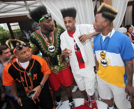 Summer Hair Trend 2012: The High Top Fade. Baskeball Wives ...