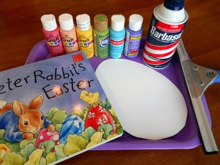 Shaving cream painting, Easter arts and crafts kids