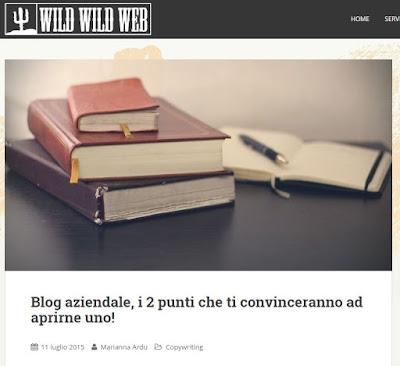 Leggi l'articolo su Wild Wild Web