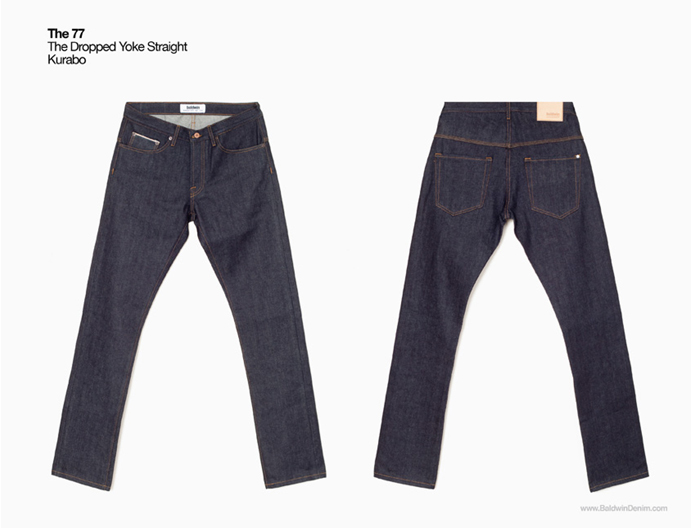 Baldwin denim The 77