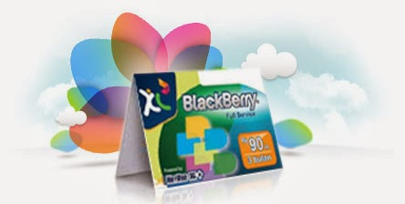 Perdana Paket BlackBerry Full Service
