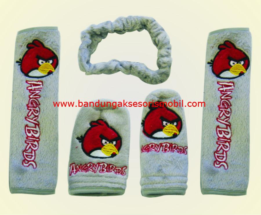 Safety Pad Angry Bird Paket Abu
