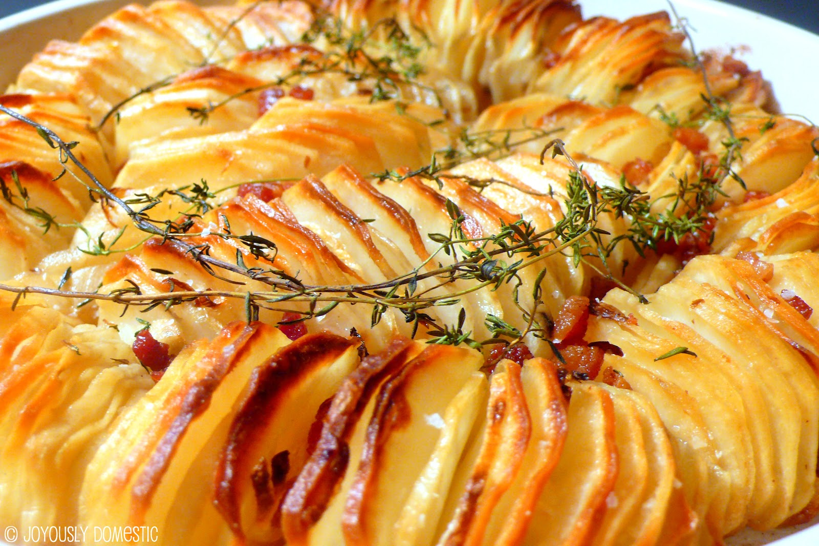 Crispy Potato Roast Recipe — Dishmaps