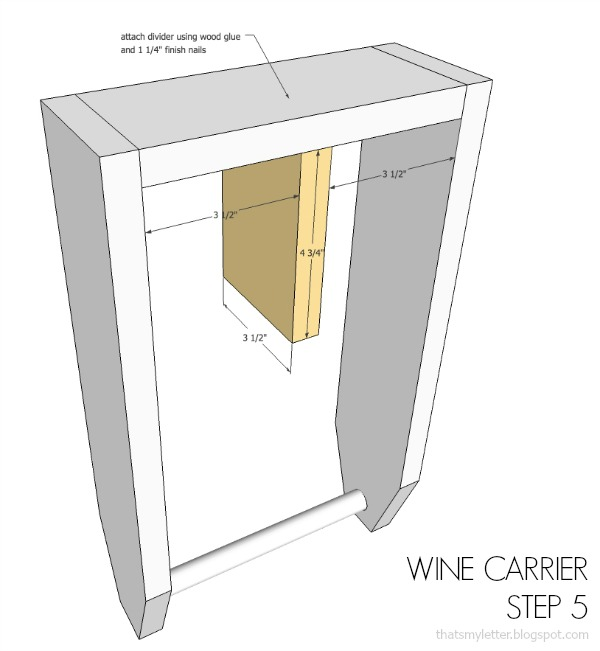 diy wine carrier free plans