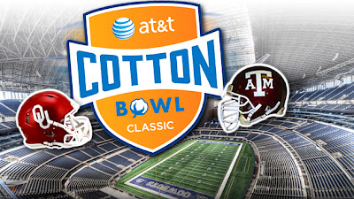 Logo for 2013 AT&T Cotton Bowl OU vs. Texas A&M