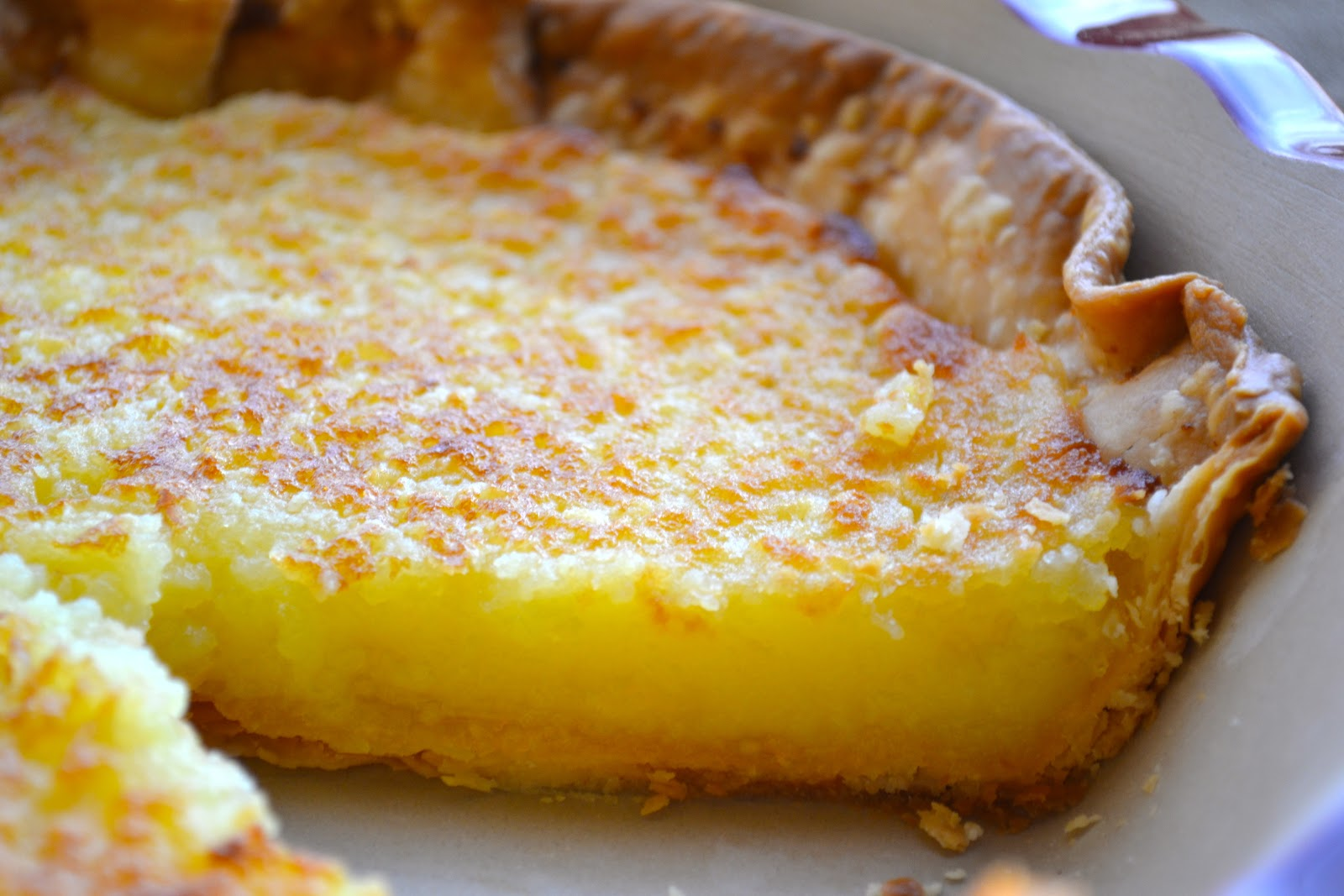 Stuff, Things, etc.: Lemon Chess Pie