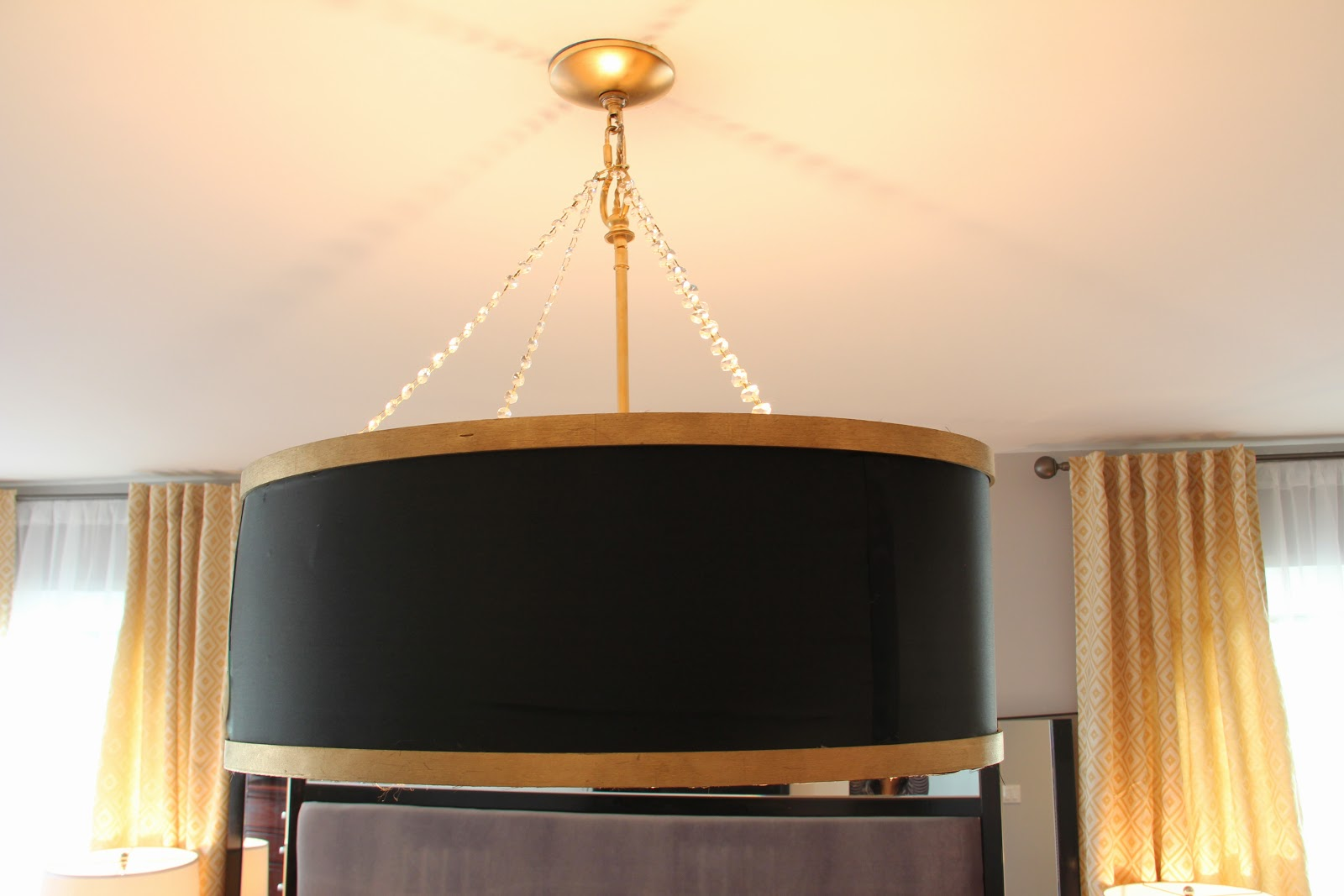 Sheer Serendipity Diy Drum Shade Chandelier