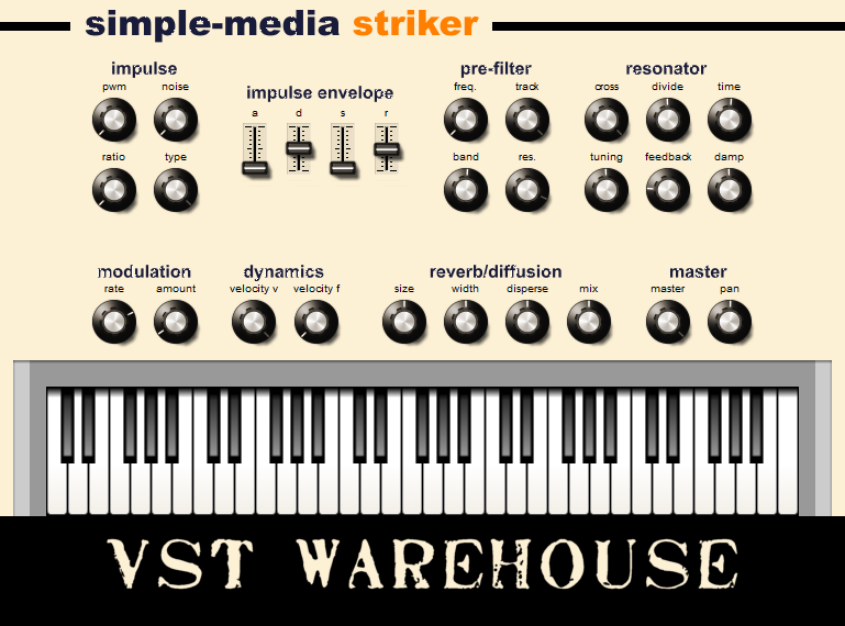 Simple-Media - Striker - Free VST plugin
