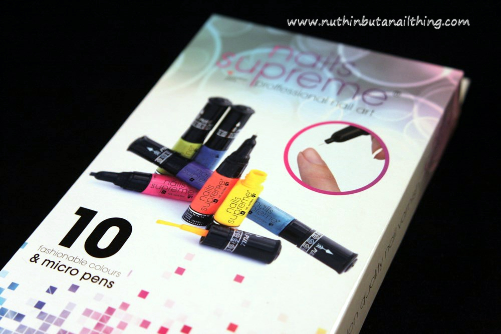 Nail Supreme Nail Art Pens from Presents for Men