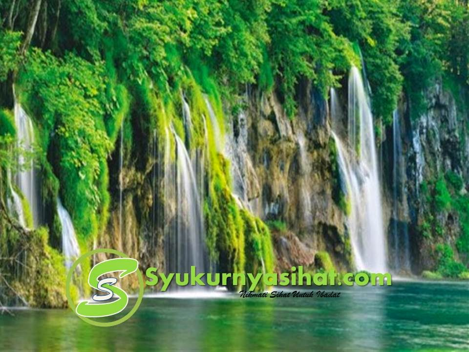 ciptaan tuhan, air terjun yang cantik, air terjun yang indah