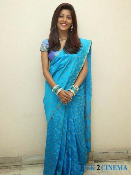 Gayatri Latest Saree Stills