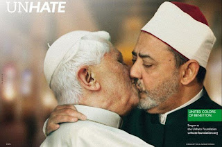 Papa Benedicto XVI y Ahmed Mohamed
