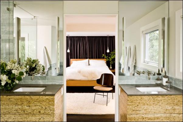 Mid Century Master Bedroom and Bath