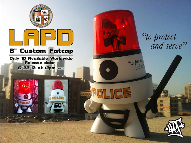 LAPD Custom 8 Inch Fatcap Series by Sket One