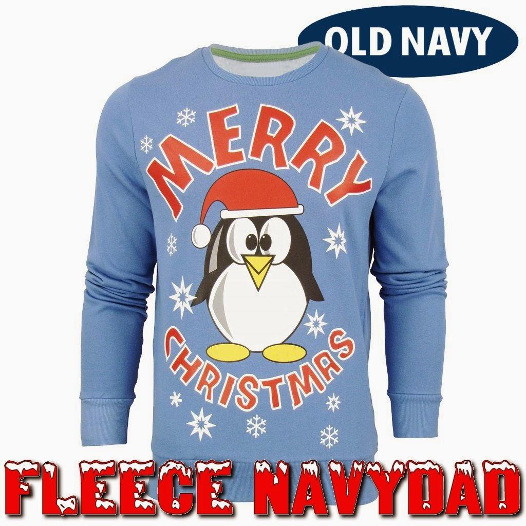 Fleece Navydad sounds like Feliz Navidad