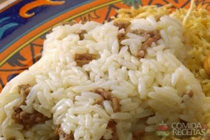imagem de arroz marroquino