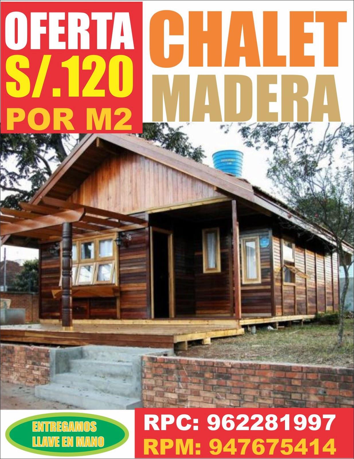 Casas pre fabricadas de madera en lima per for Casas prefabricadas de madera precios