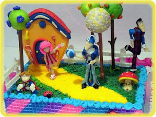 Lazy town cakes for children parties