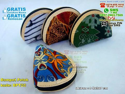 Dompet Pelok Spon Kain Batik