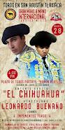 El Chihuahua y Leonardo Buenaño, anunciados en San Agustín  Tlaxiaca, el 28/08.
