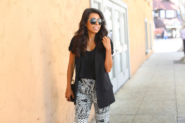 lspace trousers, how to dress form beach to street, laguna beach, pursuit of shoes