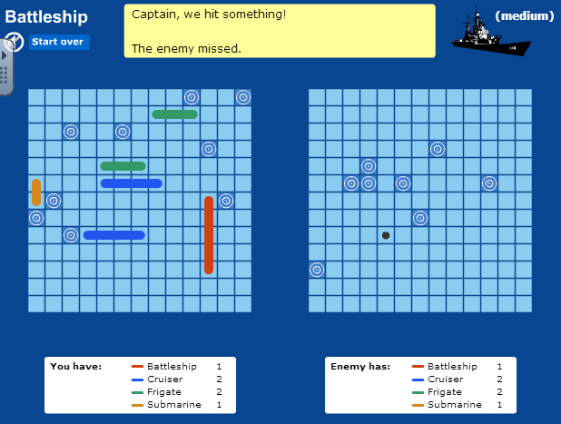 Resultat d'imatges de battleship edu365