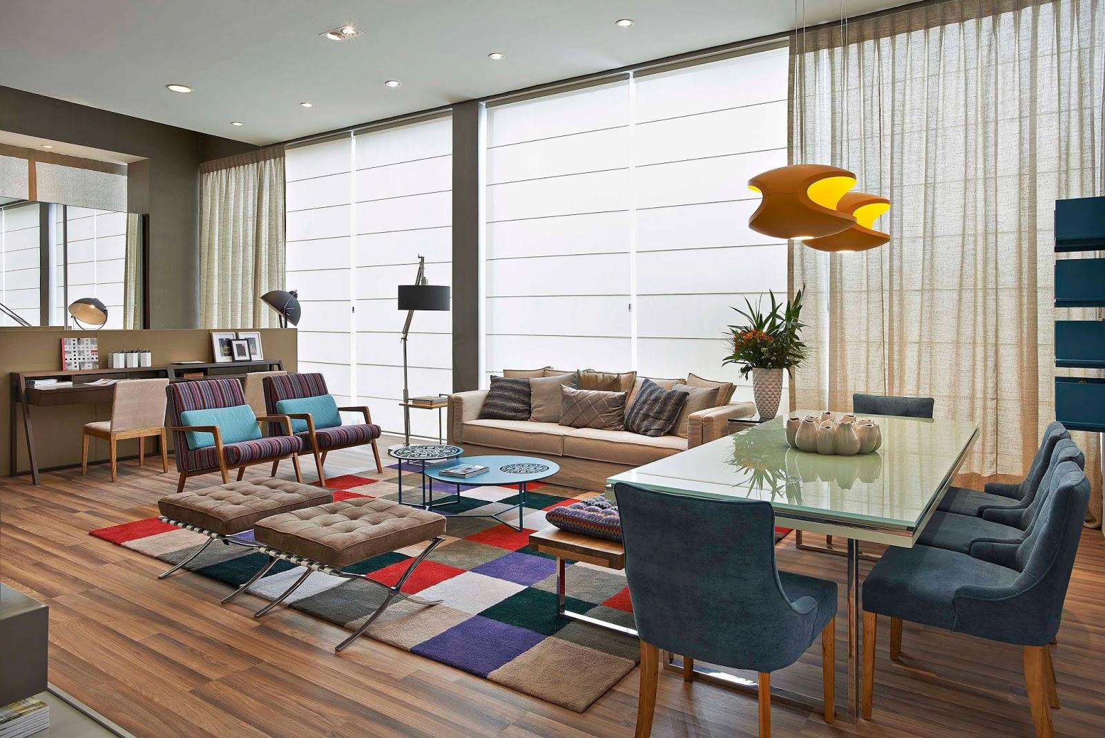 decoracao de sala jovem: totalmente integrado para o casal jovem contemporâneo com o estilo de