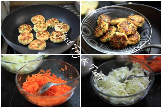 Resep Banh Mi dengan Chicken Burger JTT