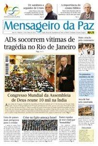 ORGÃO INFORMATIVO DAS ASSEMBLÉIAS DE DEUS MP