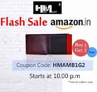 Amazon :  Hidemaxx Wallets Buy 1 Get 1 Free – Sale Starts 10 PM