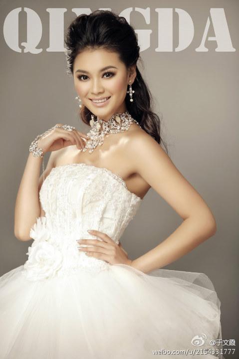 Miss World China 2012 Wen Xia Yu