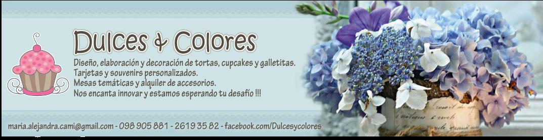 Dulces y Colores