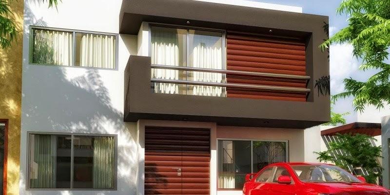 Fachadas de casas modernas marzo 2015 for Casas modernas 2015