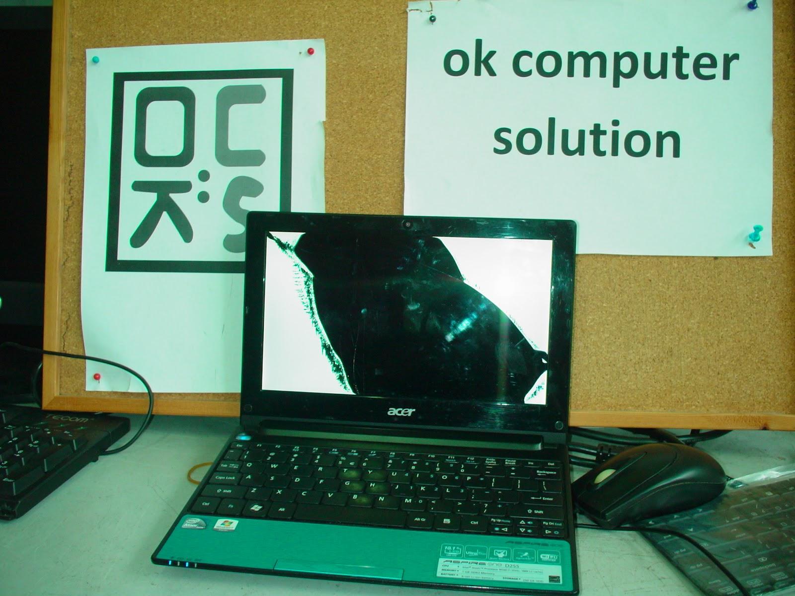 OK Computer Solution Pulau Pinang Repair Laptop Screen