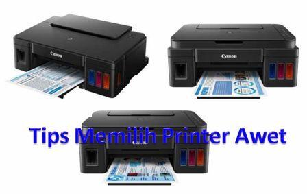 Tips Mencari Printer yang Bandel, Awet dan Jarang Rusak