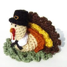 Turkey Pilgrim Scrubbie Pattern
