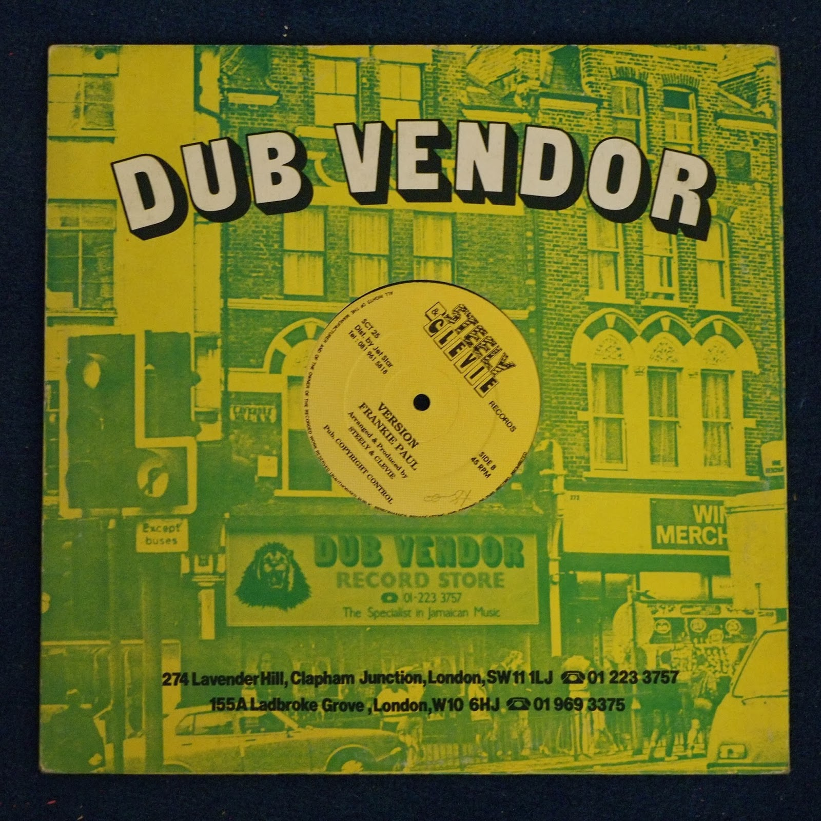 One of last, and certainly one of the best specialist Jamaican record stores, Dub Vendor, has gone - but it lives