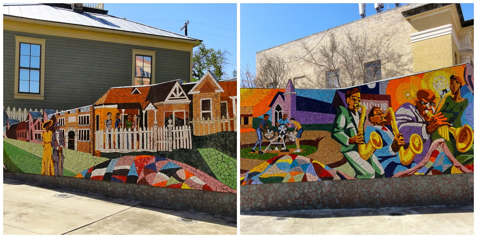 Austin Mural Rhapsody: 11th & Waller