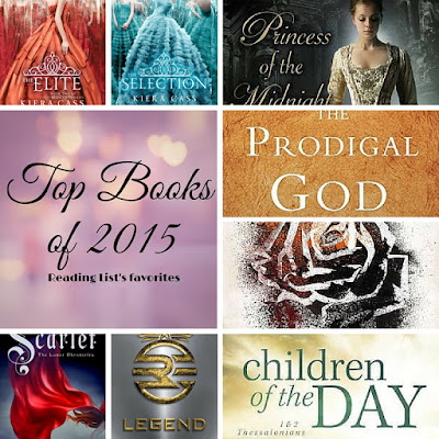 Top books of 2015 from Reading List