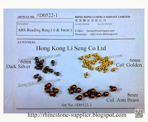 ABS Beading Ring Manufacturer - Hong Kong Li Seng Co Ltd