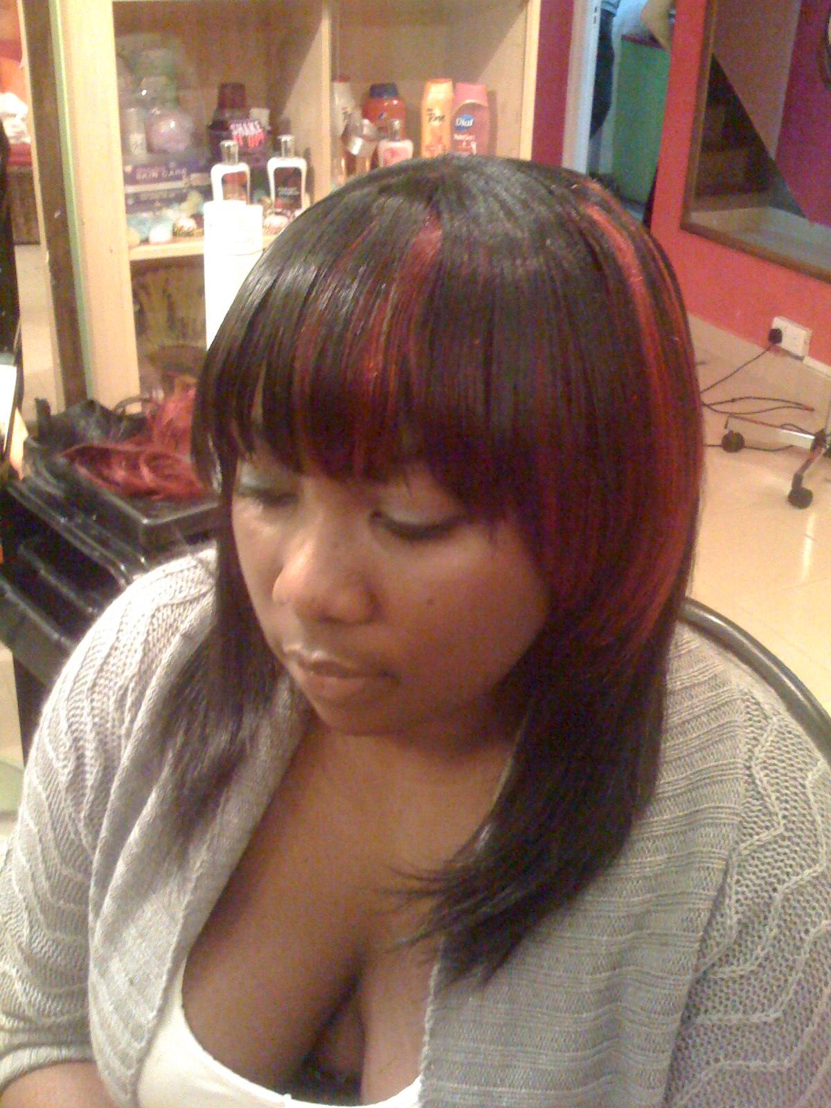 Nywele Afrika Color Blocking Hair