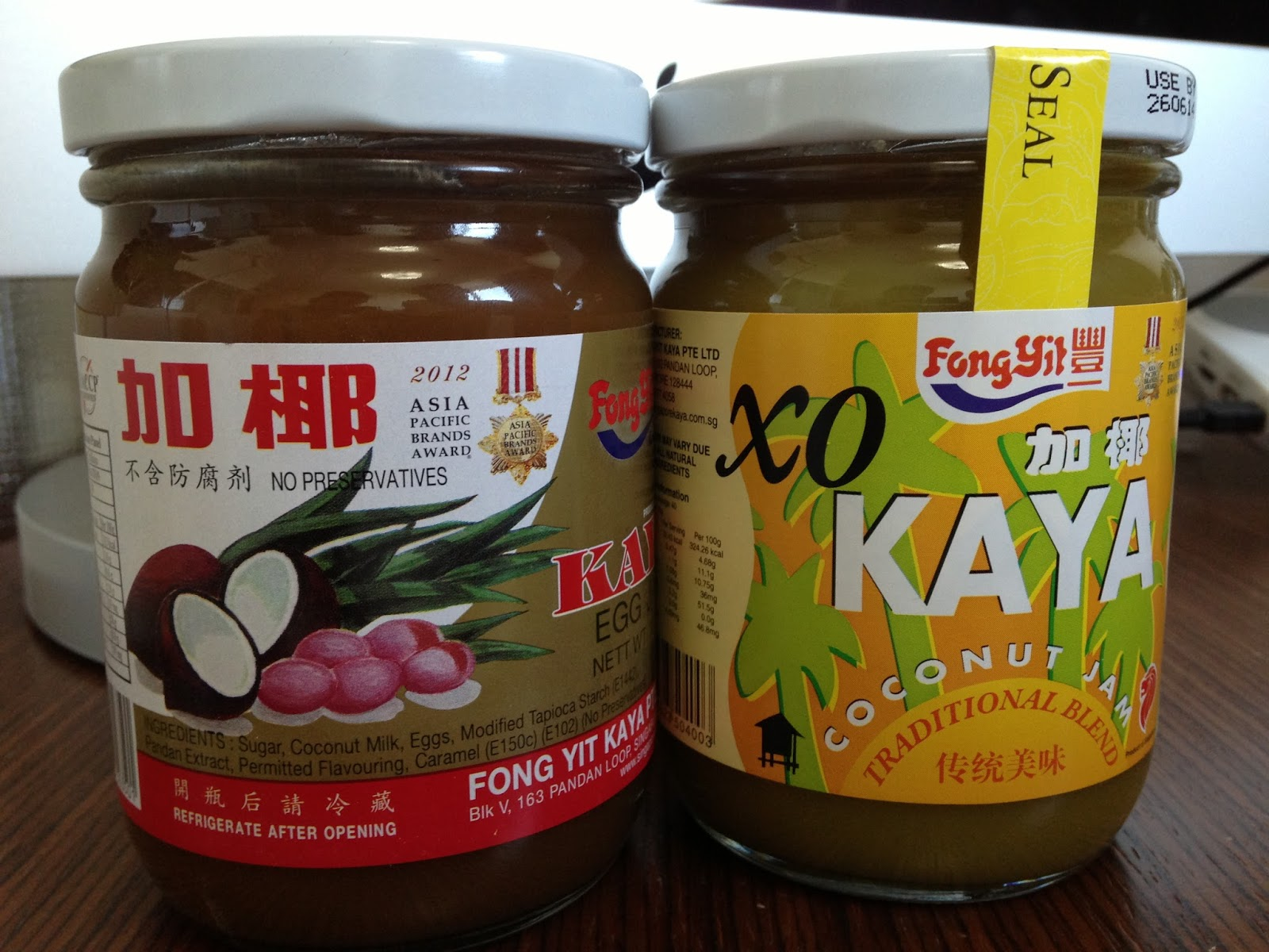 Kaya Jam and Chinese Heritage Cooking From My American