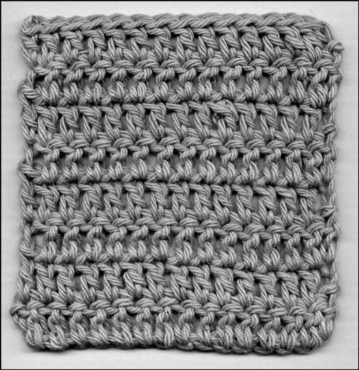 Crochet Double Stitch Diagram : Beginning to Knit: The Basics: August 2012